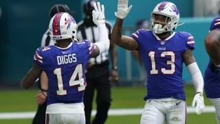 Bills Dolphins Diggs Davis