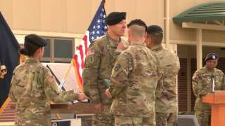 Army chaplain awarded Soldier's Medal for tackling machete-wielding soldier to end hostage situation