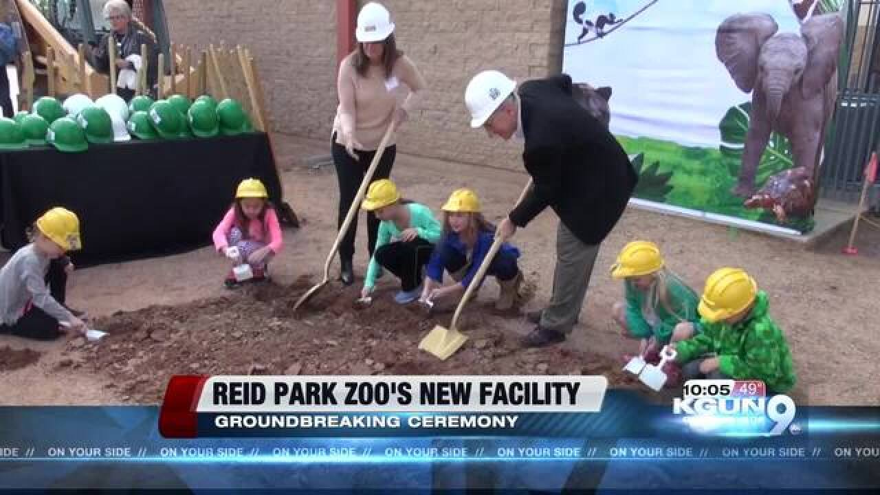 Reid Park Zoo getting new animal health center