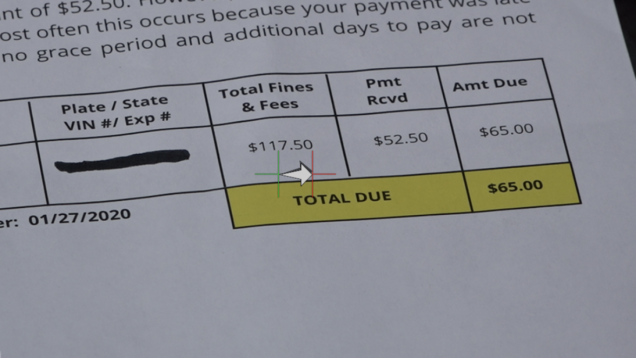 Parking ticket fallout: another drivers paid ticket early , hit with late fees