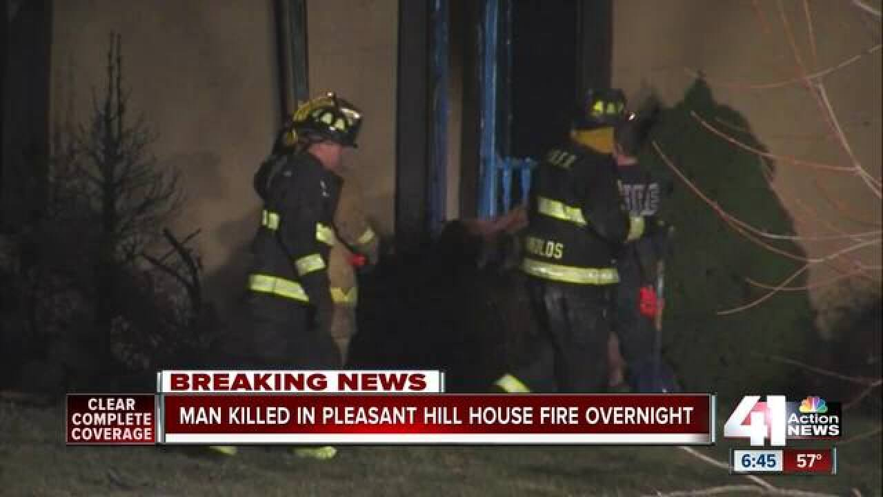 1 dead after fire in Pleasant Hill home