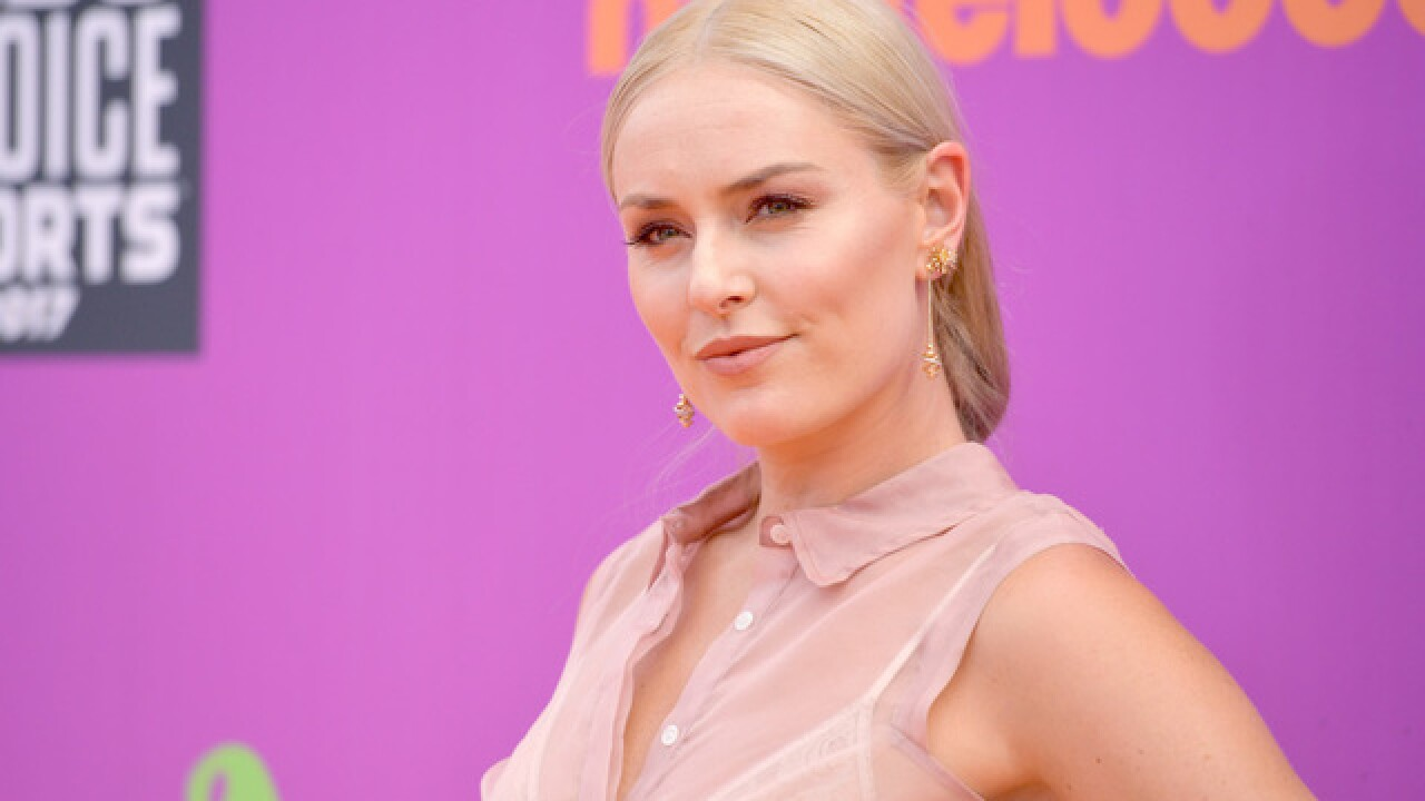 Lindsey Vonn determined to race against men