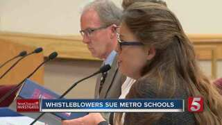Whistleblowers Sue Metro Schools, Claim Retaliation