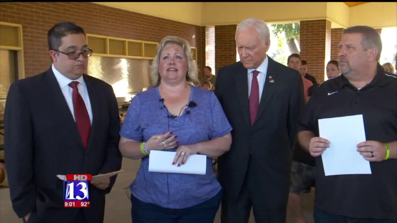Sen. Hatch joins Holt family to push for release of Utahn imprisoned inVenezuela