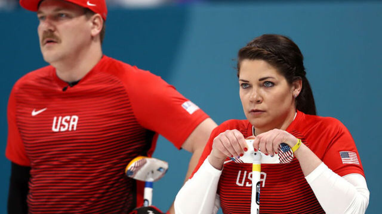 Newest Olympic sport gets underway; brother, sister team represents the USA