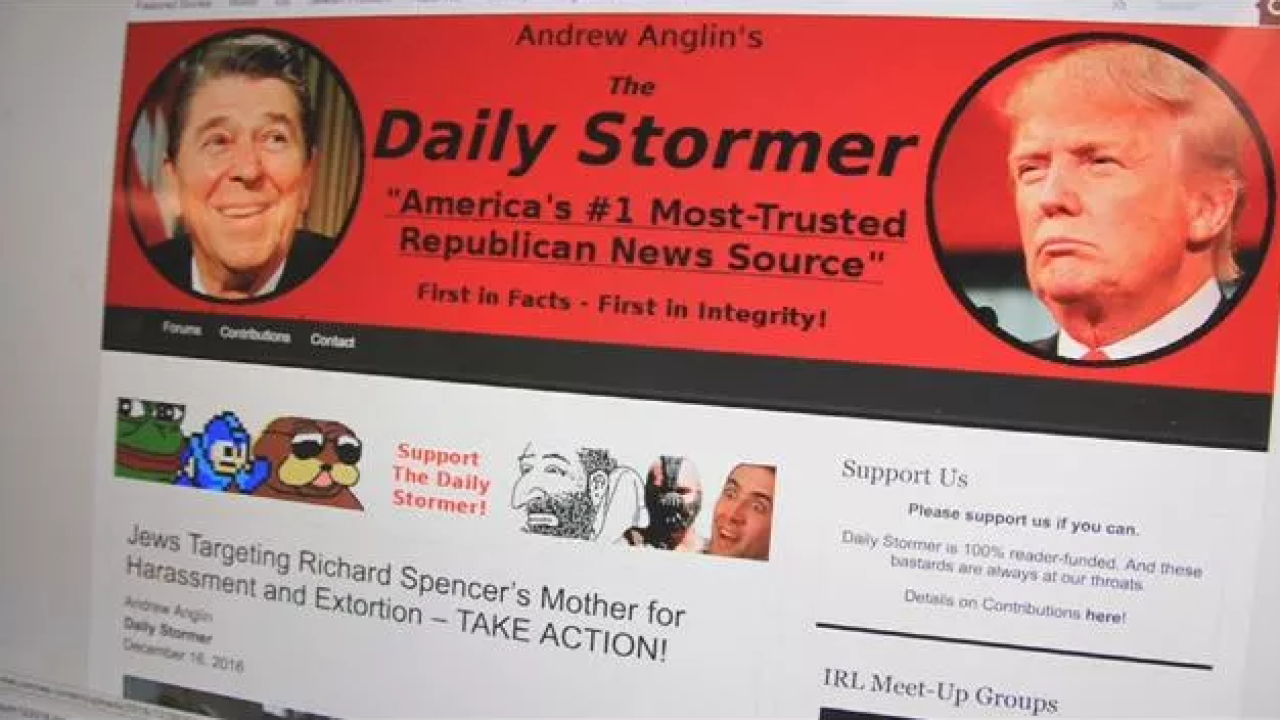 Neo-Nazi website founder ordered to pay $14M for troll storm