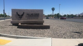 Man's body found on Nellis Air Force Base