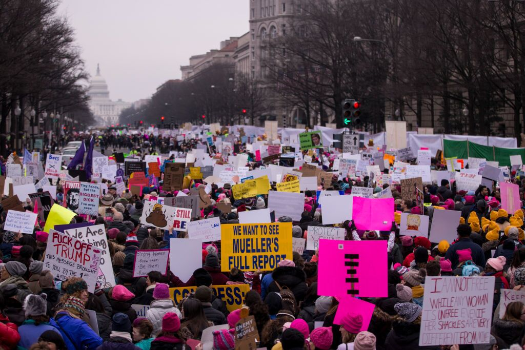 Photos: Scenes from the 2019 Women's March demonstrations across the globe