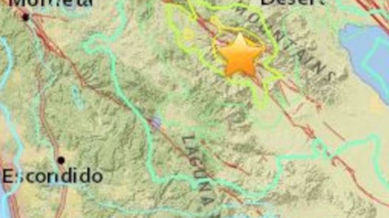 5.2M earthquake hits California