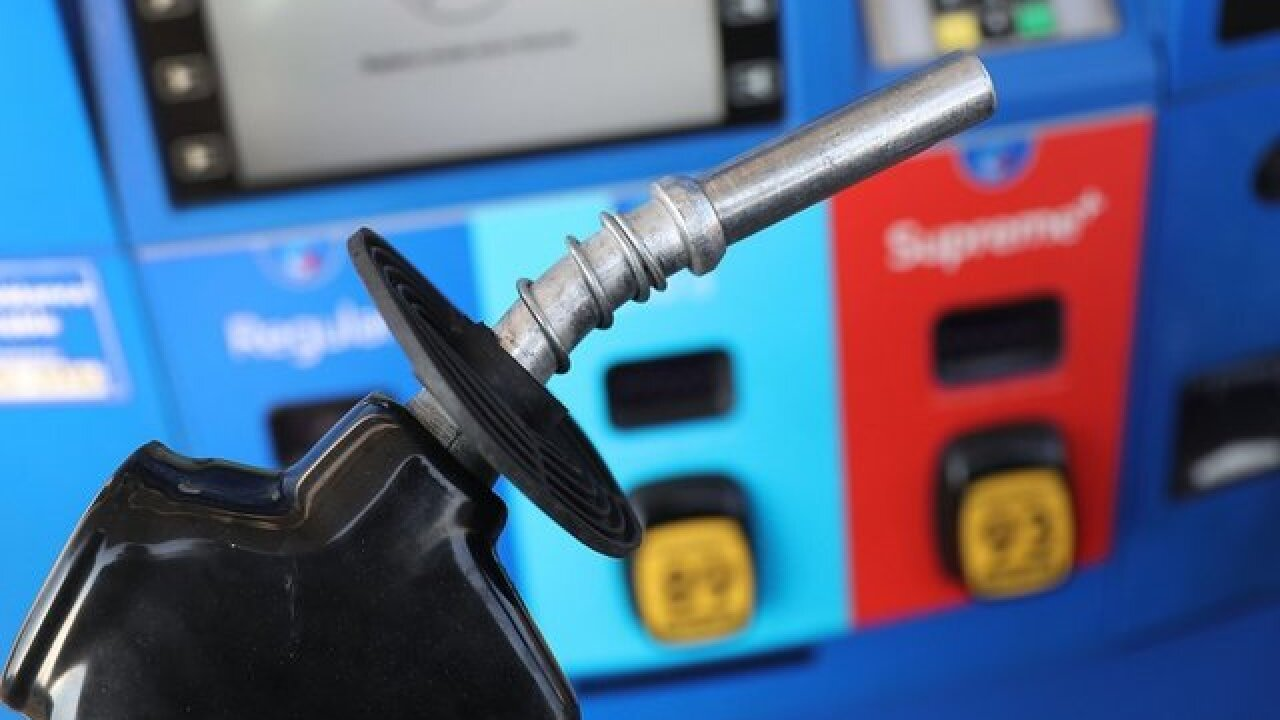Gas prices dropping before big holiday travel