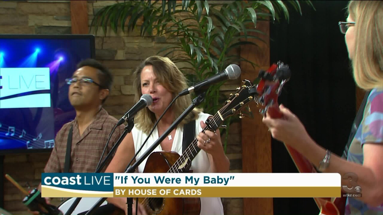 Local music spotlight with House of Cards on Coast Live