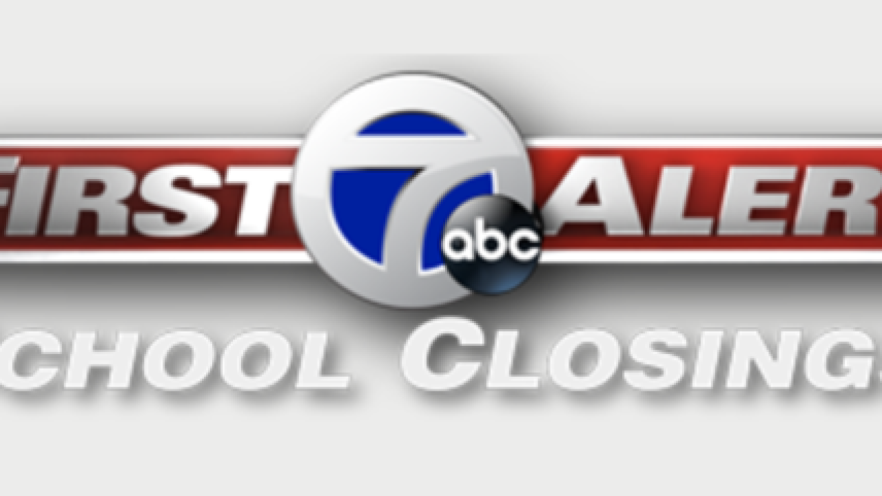 SCHOOL CLOSINGS: Check here for closings, delays
