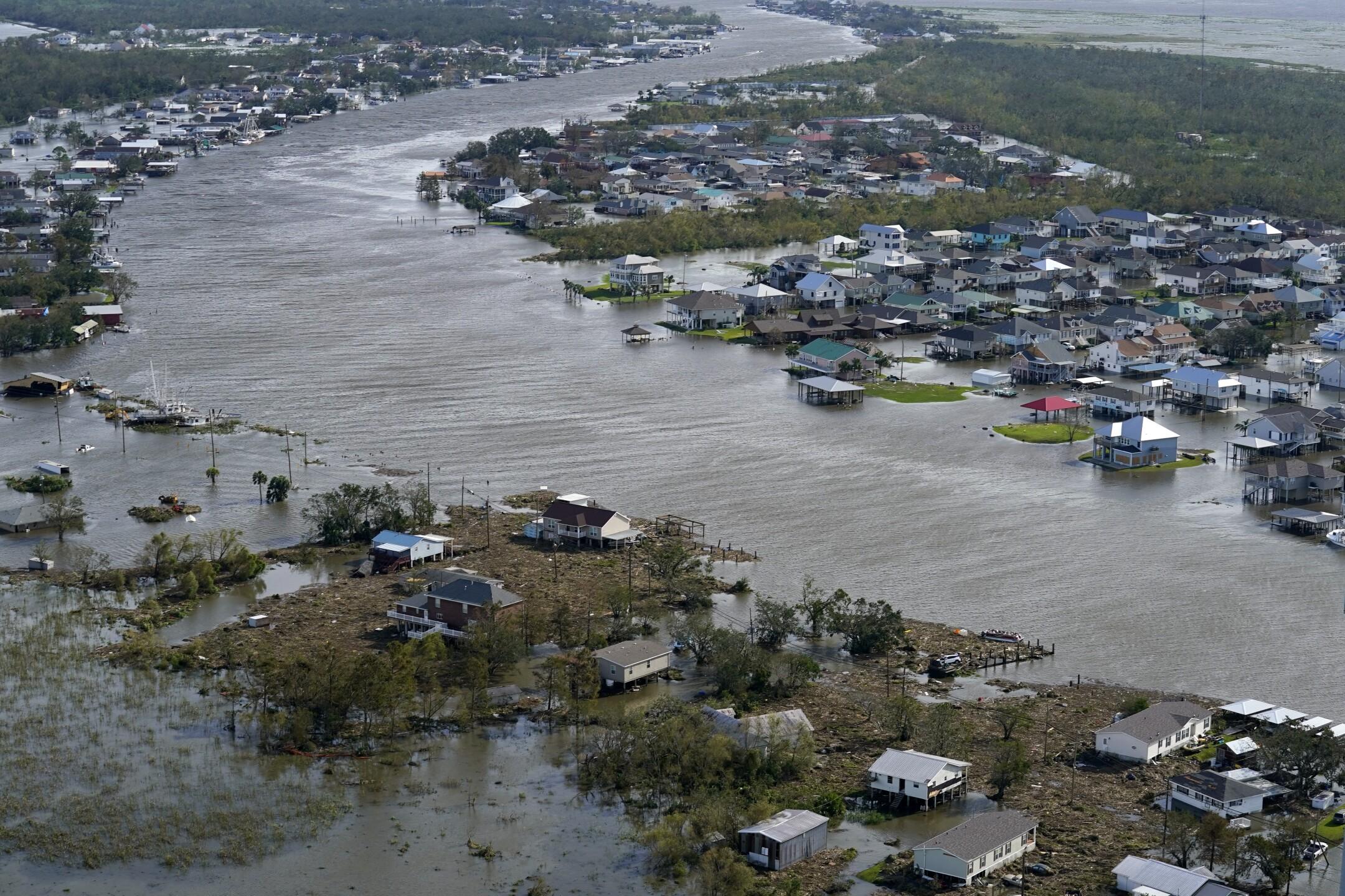 APTOPIX Tropical Storm
