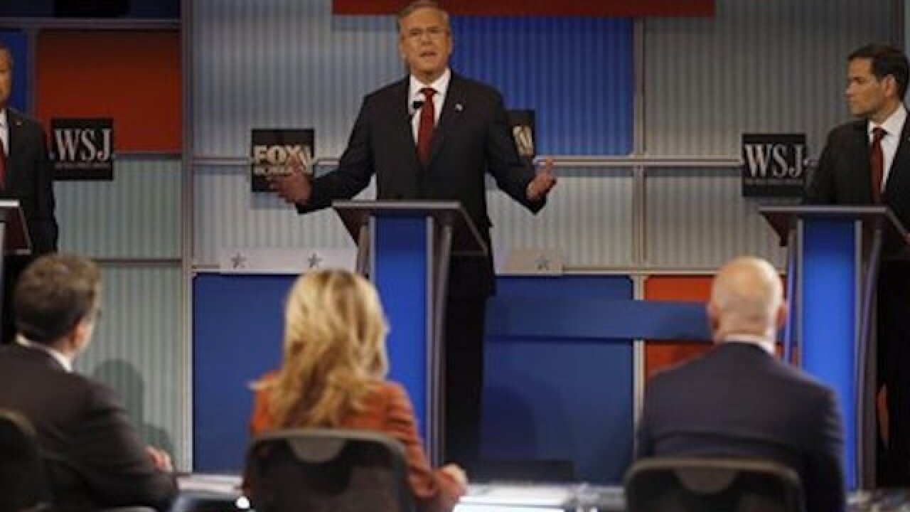 AP FACT CHECK: GOP candidates flub some figures in debate