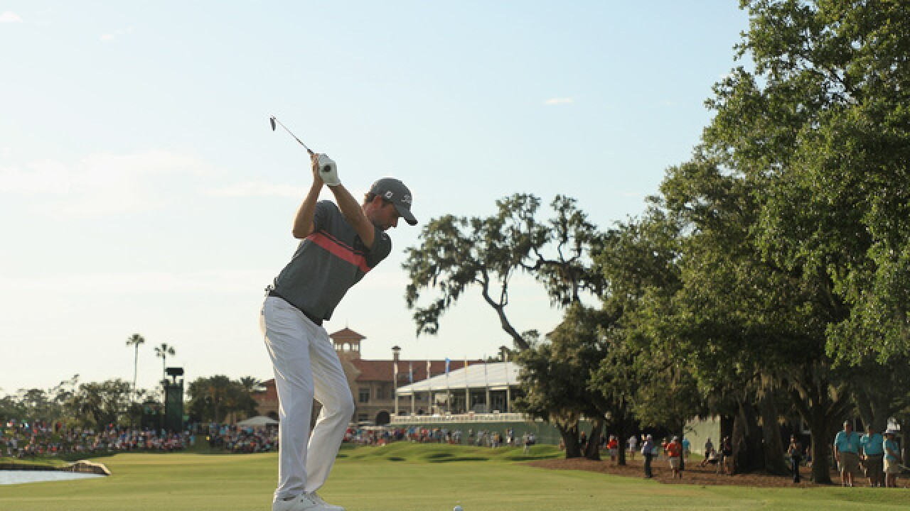 Simpson heads into Sunday with lead at The Players Championship