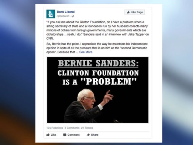 PHOTOS: Russian-linked Facebook ads released by Democrats on House Intelligence Committee