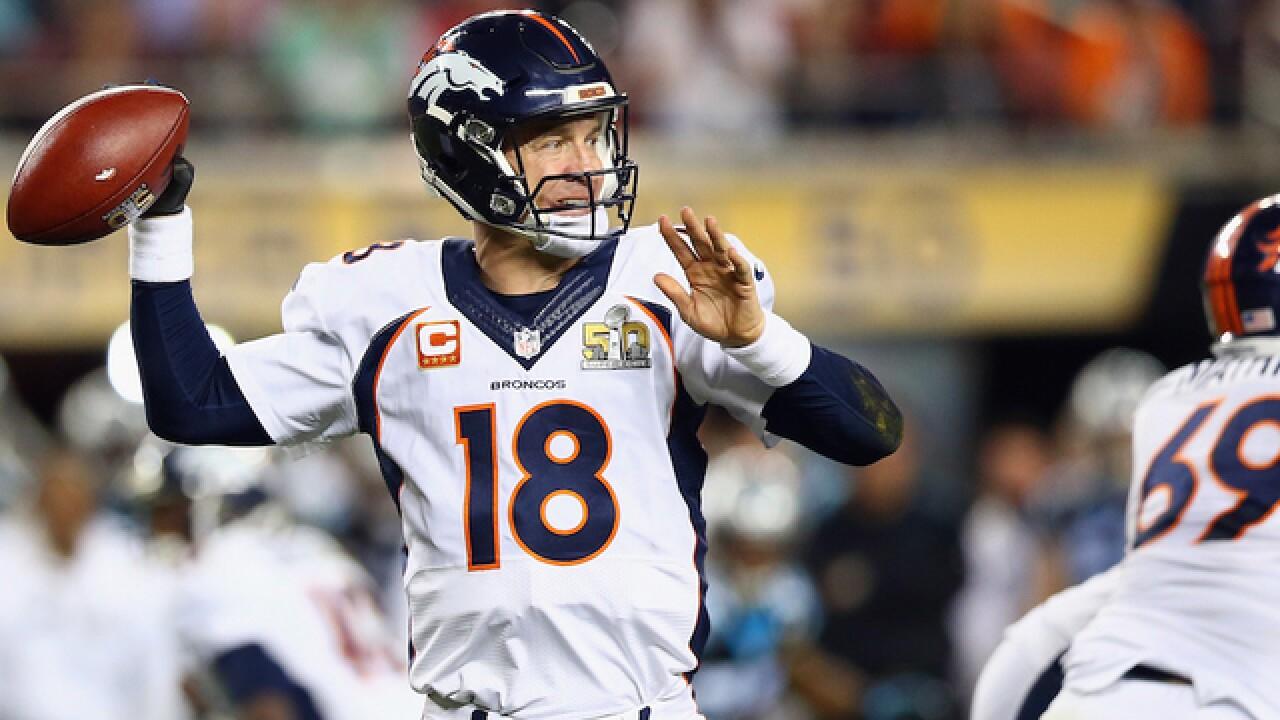 Peyton Manning tells Broncos he will retire