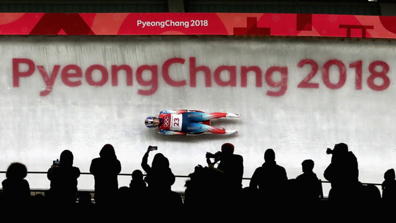 Winter Olympics 2018: American luger Emily Sweeney crashes on final run