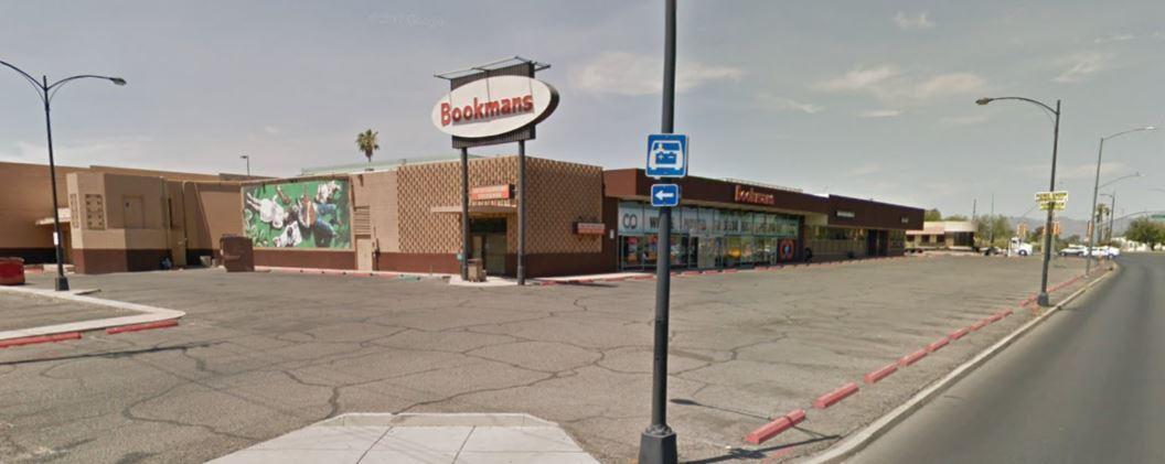 Bookmans store at Grant and Campb