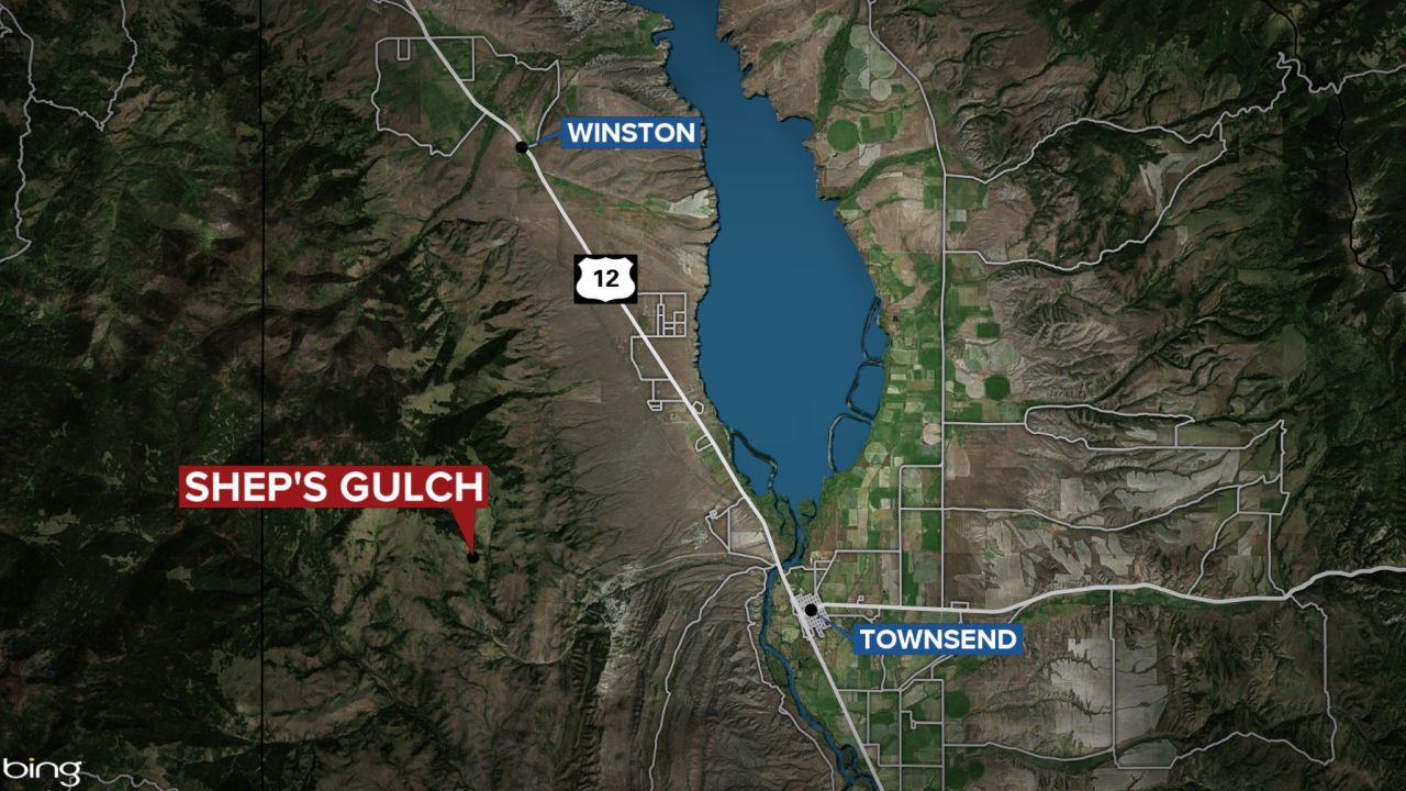 Shep's Gulch in Broadwater County