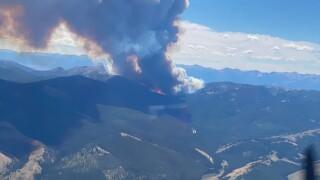 Bear Creek Fire Air