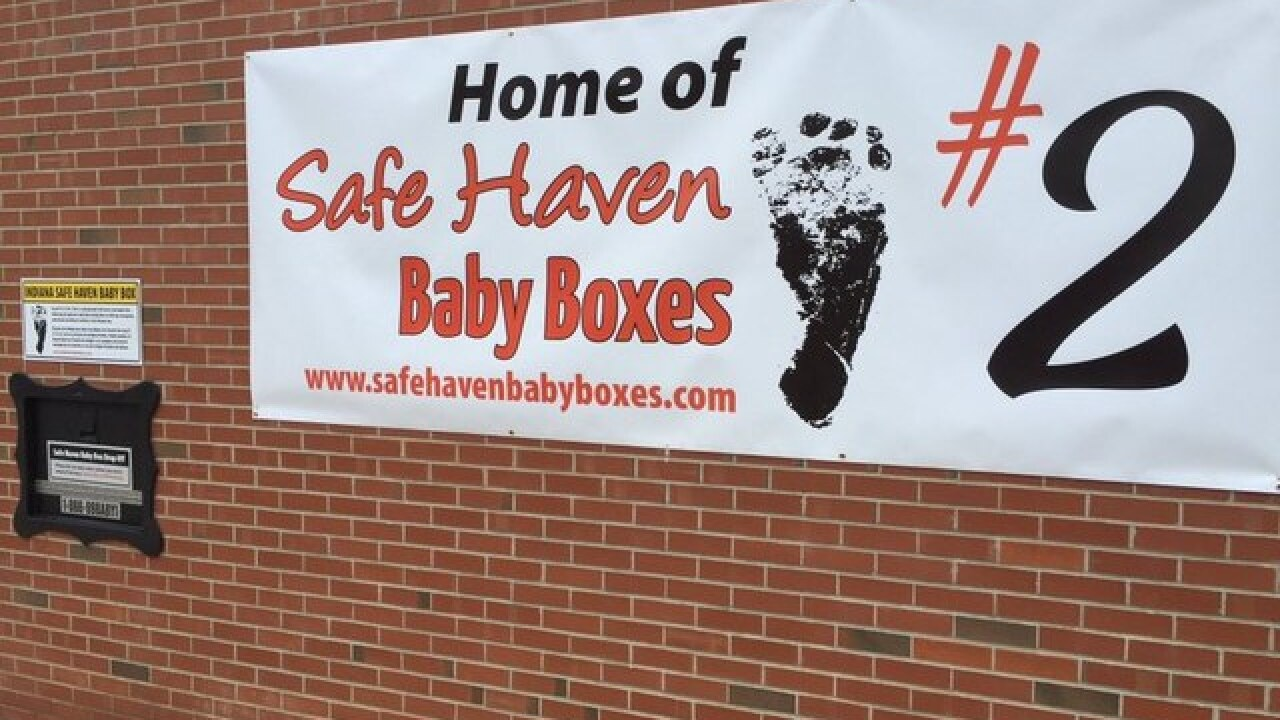 First central Indiana baby box to be installed