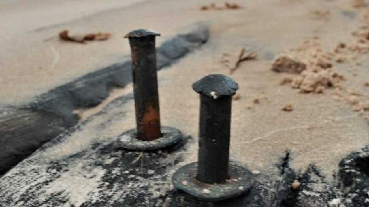 11.30.19 Debris from Shipwreck Exposed by Storm 2 - Courtesy Rick Vuyst via Facebook.jpg