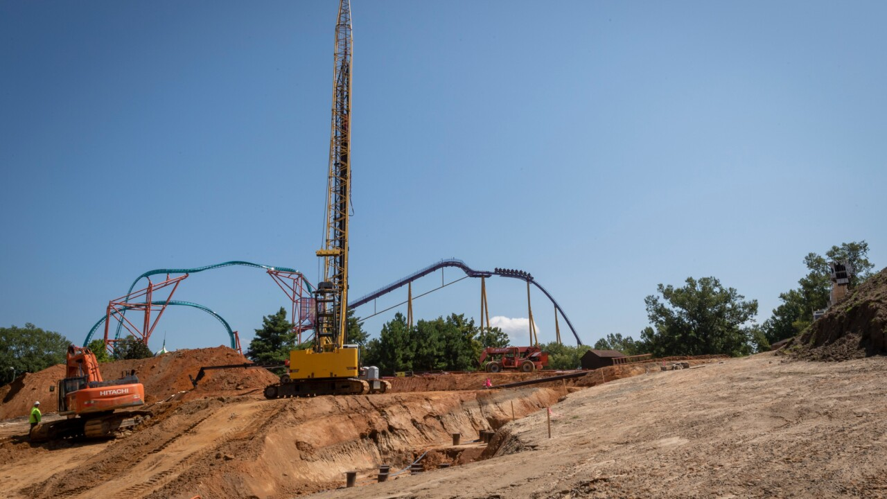 Busch Gardens reveals plans for new 'record-breaking' rollercoaster