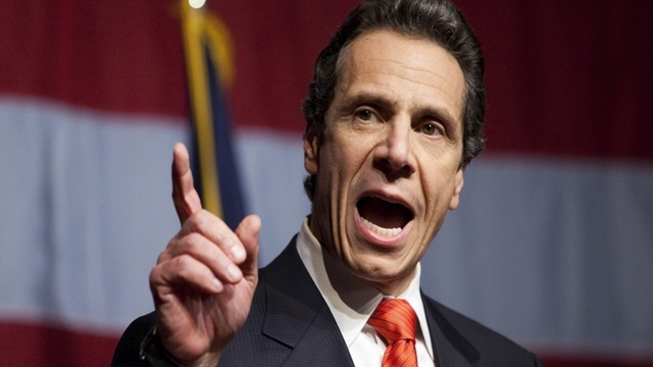 New York Gov. Cuomo announces free college tuition plan