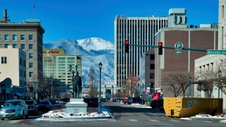 Colorado Springs downtown Larry Marr