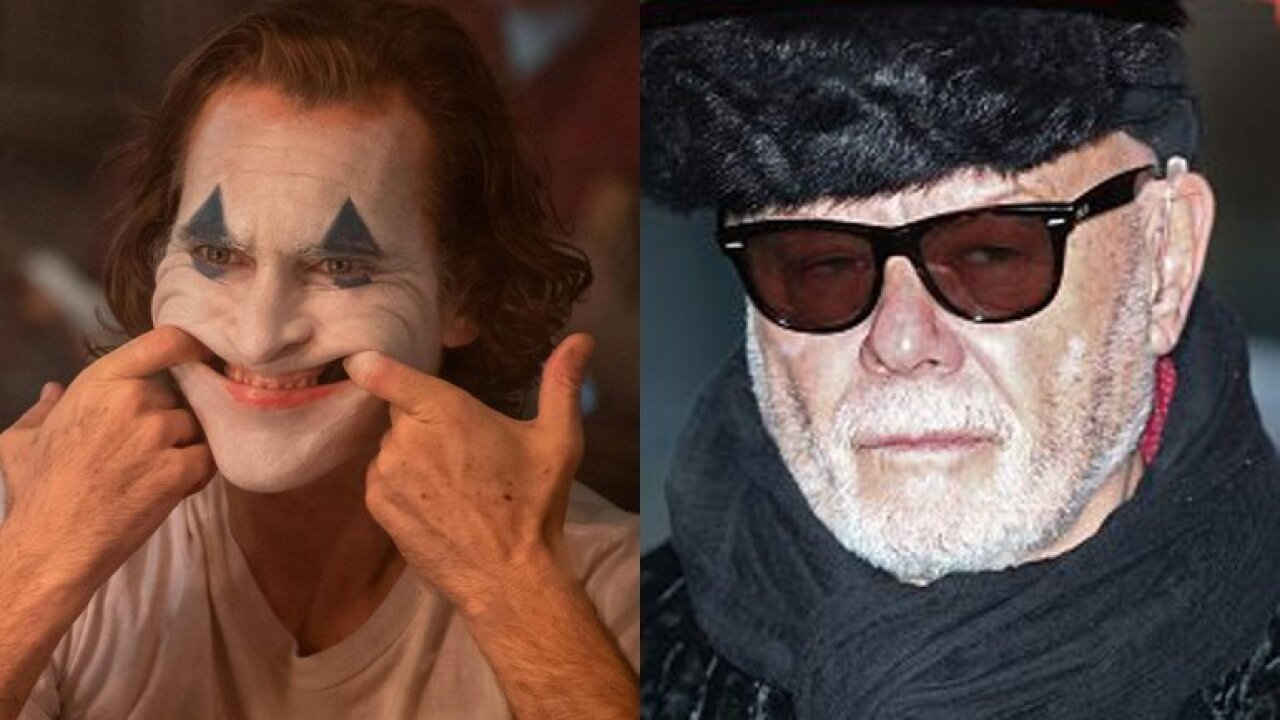 'Joker' uses a song by convicted pedophile Gary Glitter. He's probably making money off it