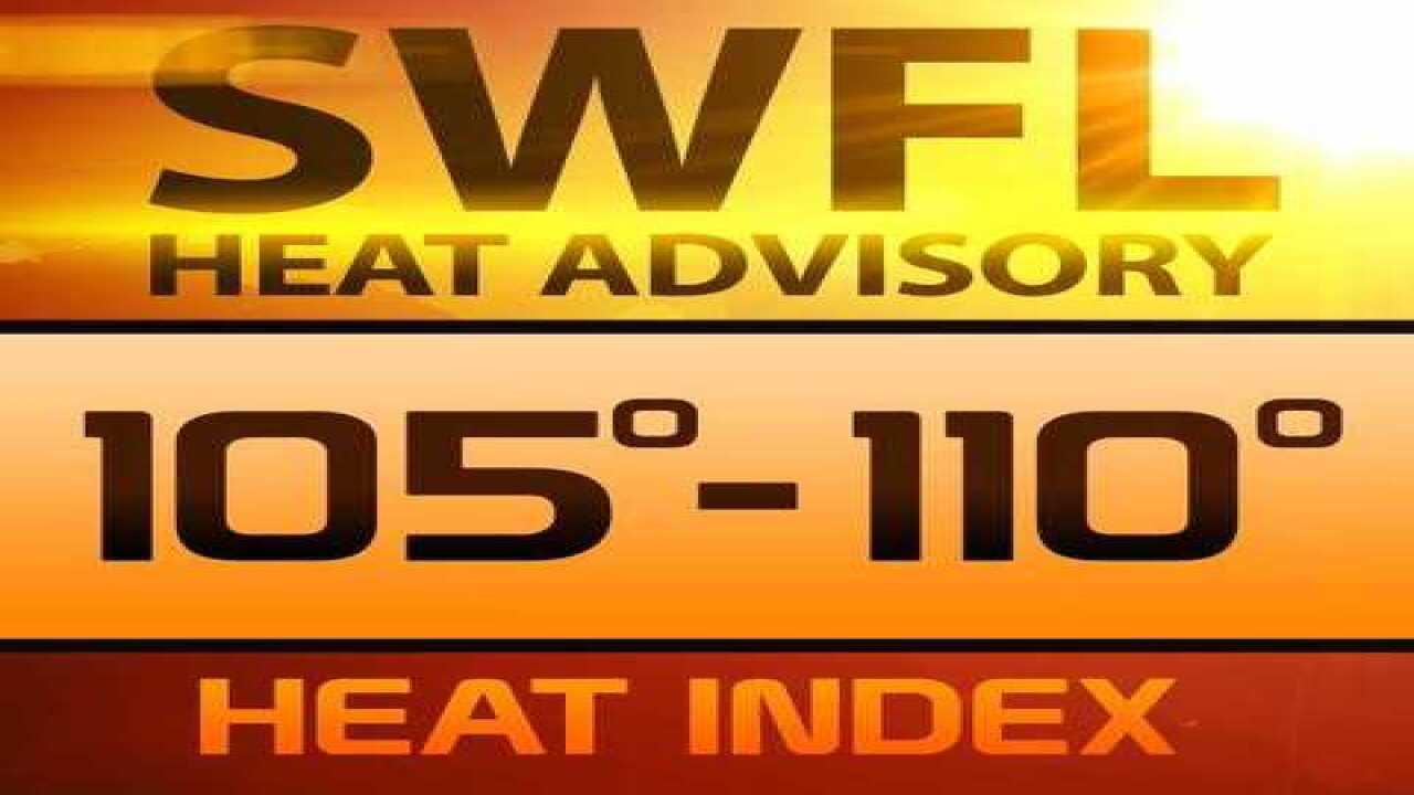 Dangerous Heat: Temps to feel like 105-110