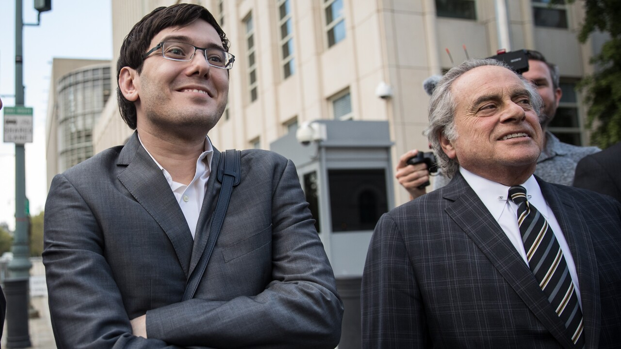 Martin Shkreli cries in court as judge hands down 7-year prison sentence