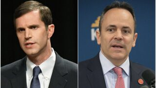 Bevin, Beshear clash over office space amid race for governor