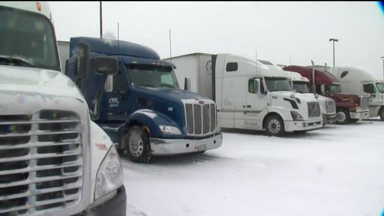 Truck, bus travel ban lifted on Thruway
