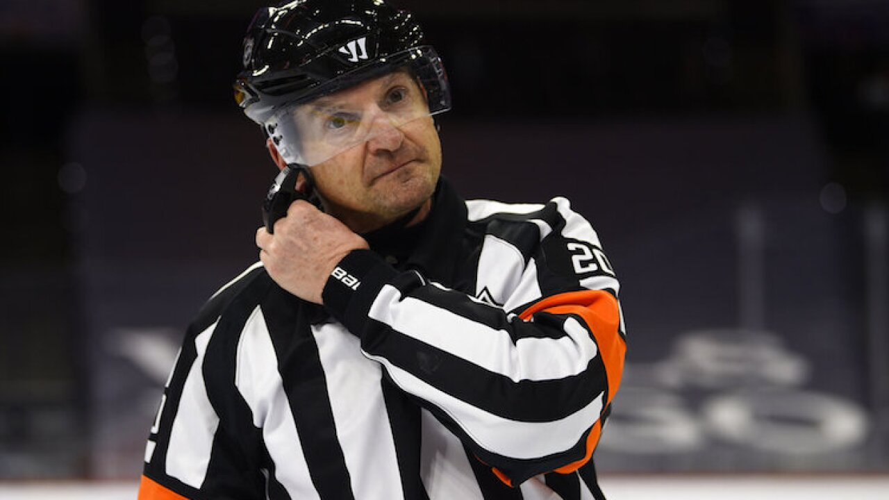 Referee Hot Mic Hockey