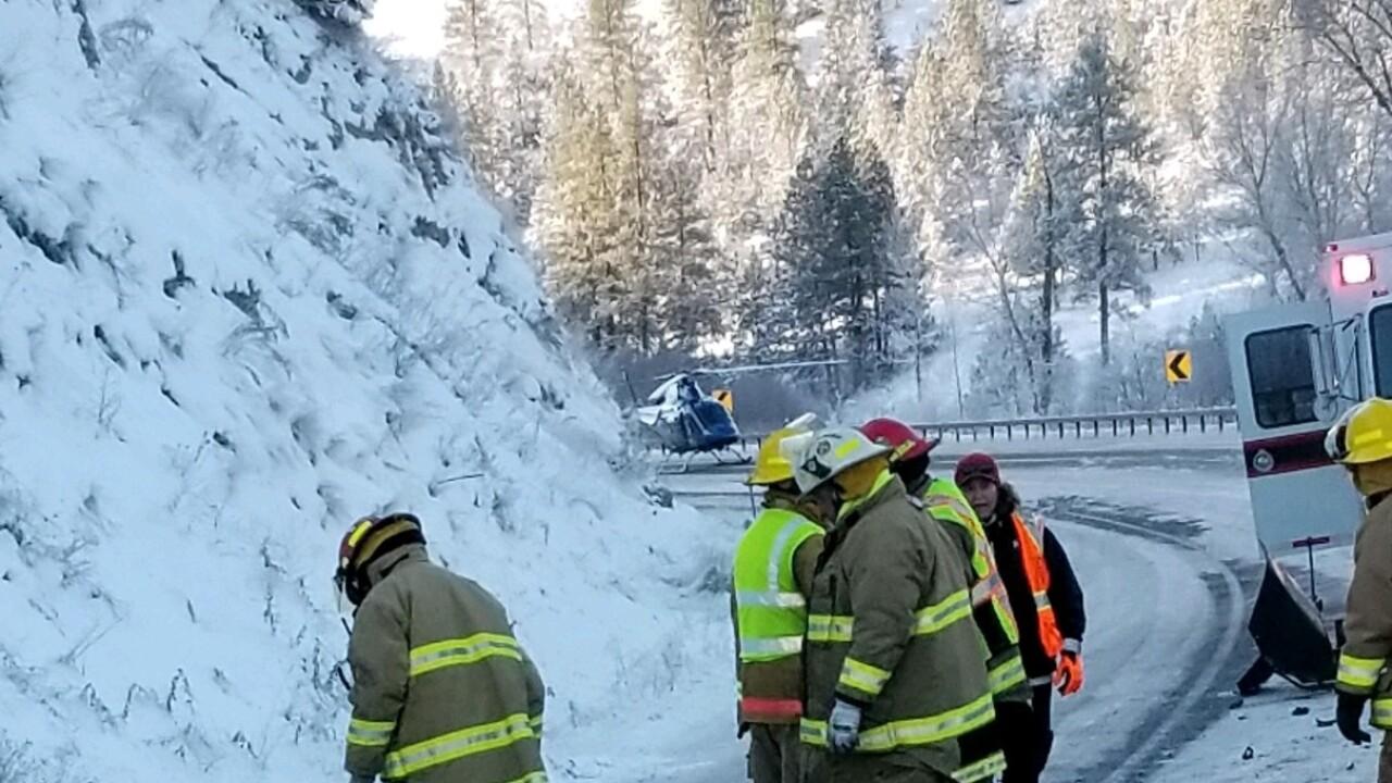 Highway 93 Ravalli Accident