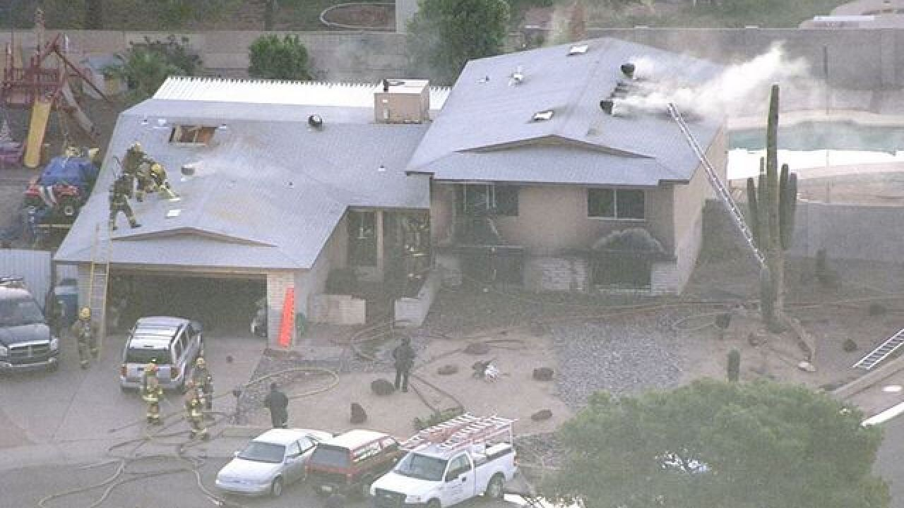 Family of 4 reportedly shot at Phoenix home