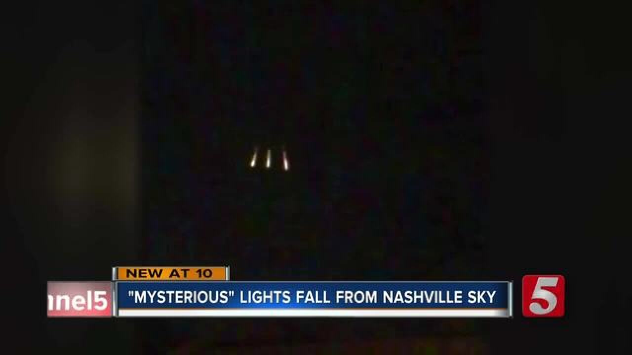 Bright lights in Nashville sky creates confusion