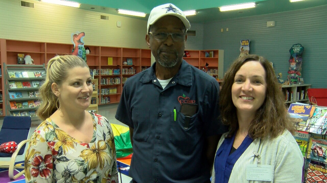 'He's the heart and soul of the school': A custodian in Texas was surprised with a special gift from students