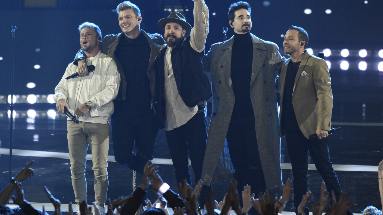Brian Littrell, Nick Carter, AJ McLean, Kevin Richardson, Howie Dorough
