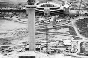 Denver Library Archive_DIA construction