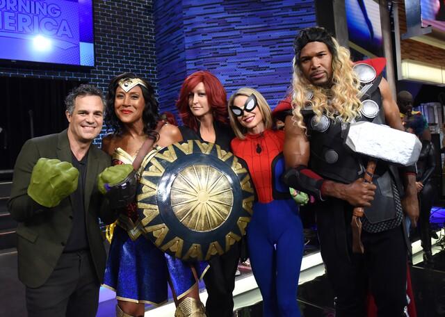 Photos: Best celebrity costumes of Halloween 2017