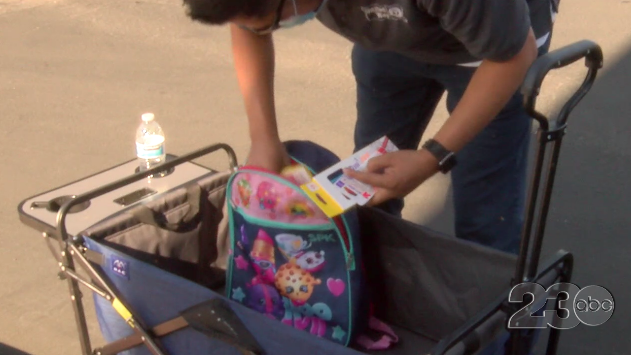 United Way of Kern County Back to School Backpack Drive