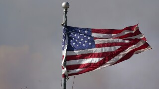 american flag wildfire granby east troublesome fire