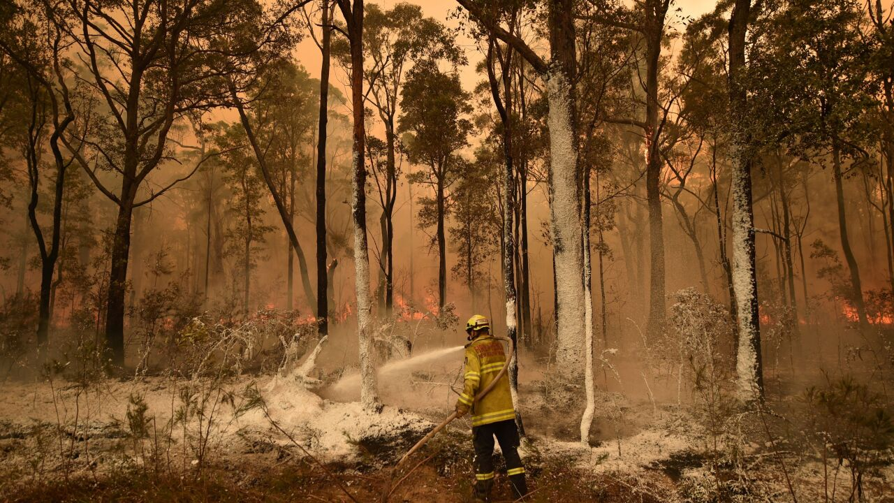 New South Wales declares a 7-day state of emergency as Australia's deadly bushfires rage