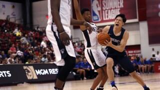 FILE NBA Summer League Nets Mavericks Basketball