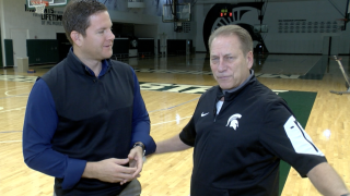 Tom Izzo and Justin Rose