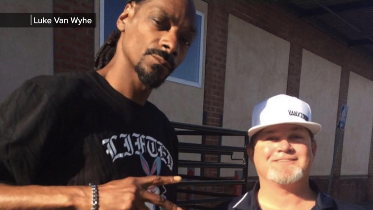 Snoop Dog and Luke Van Wyhe