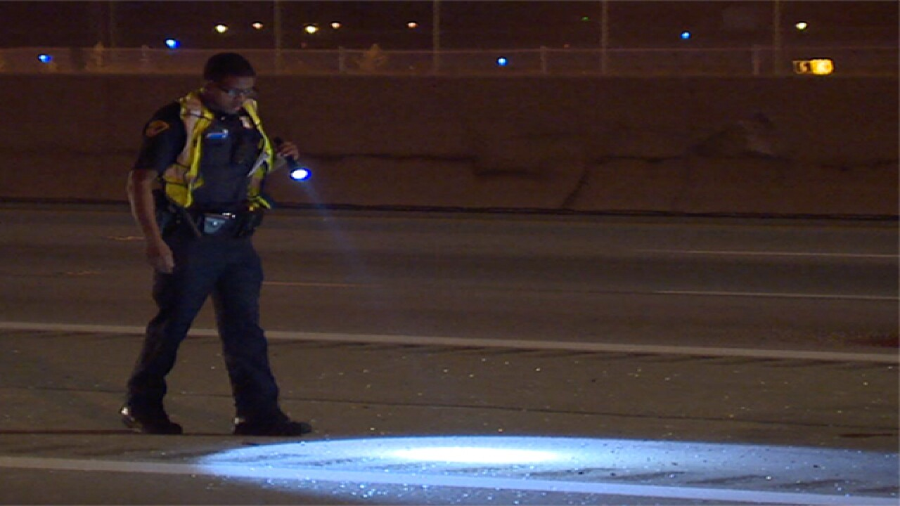 4-year-old boy shot in the head on I-90